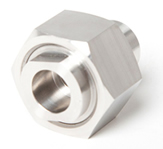 stainless steel milled part