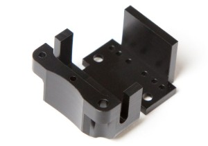 Black Acetal Machined Part - Scientific