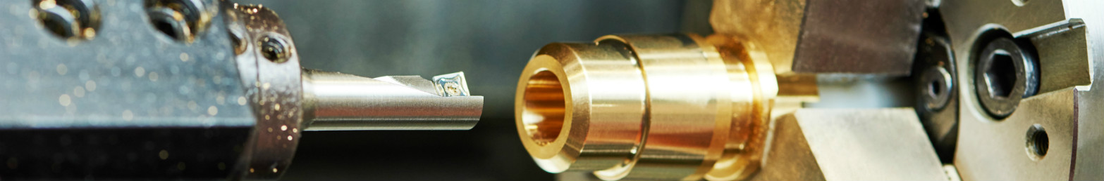 CNC Turning of Brass Component