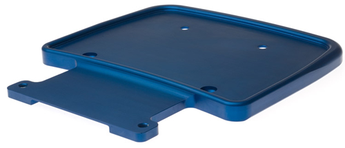 Plated aerospace tray