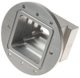 aerospace stainless steel machined part